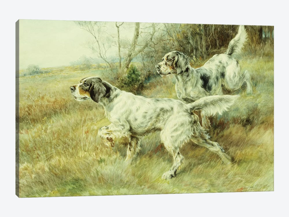 The Hunt,  by Edmund Henry Osthaus 1-piece Canvas Art Print