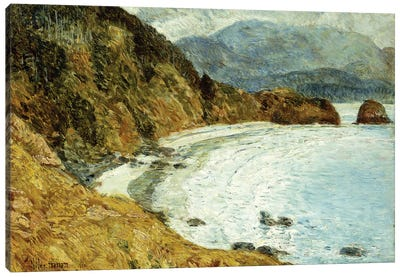 Ecola Beach, Oregon, 1904  Canvas Art Print