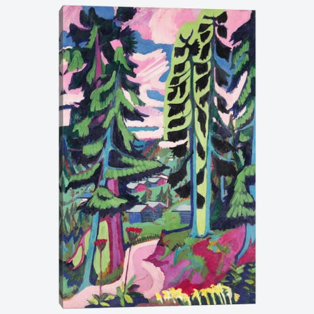 Wild Mountain  Canvas Print #BMN5880} by Ernst Ludwig Kirchner Canvas Print