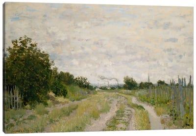 Path through the Vineyards, Argenteuil; Chemin dans les Vignes, Argenteuil, c.1872  Canvas Print #BMN5882