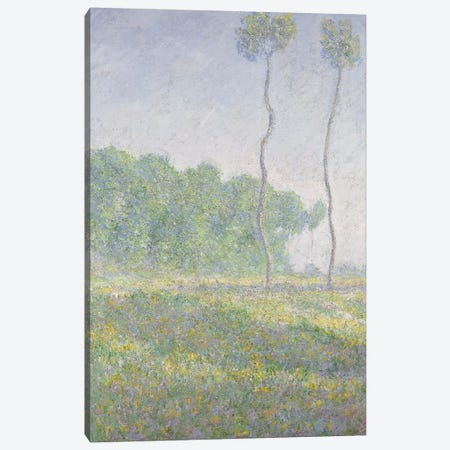 Landscape in the Spring  Canvas Print #BMN5892} by Claude Monet Canvas Art