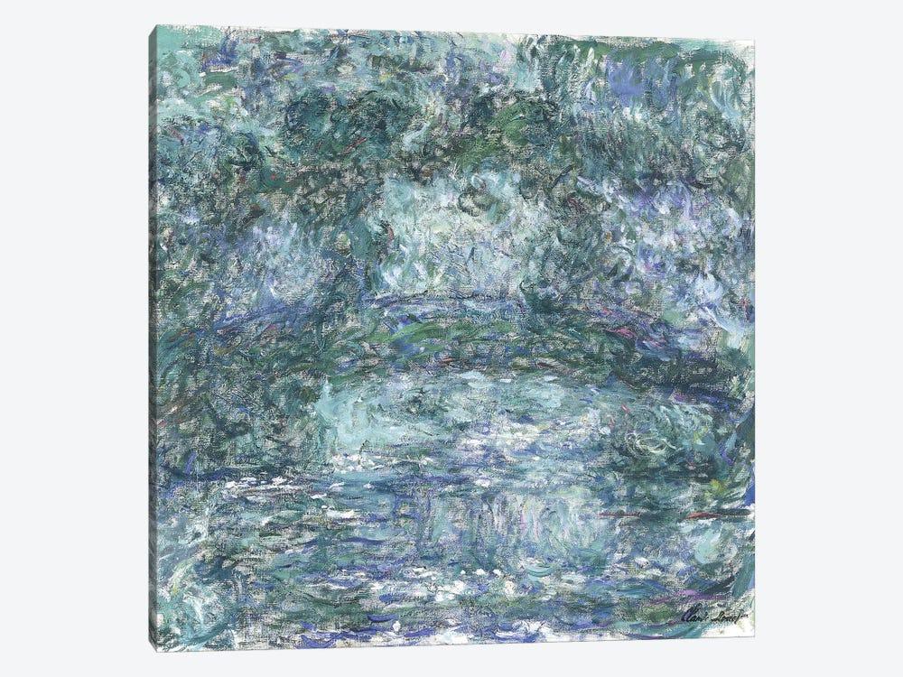 The Japanese Bridge; Le Pont Japonais, c.1918-1924  by Claude Monet 1-piece Canvas Artwork