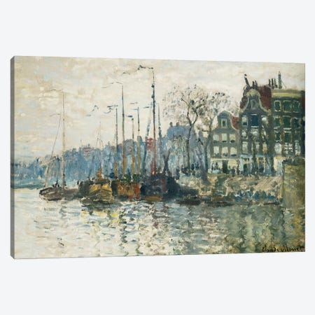 Amsterdam, 1874  Canvas Print #BMN5895} by Claude Monet Canvas Print