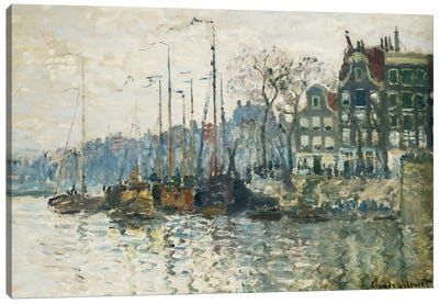 Amsterdam, 1874  Canvas Art Print