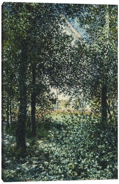Thicket: The House of Argenteuil (Les Broussailles: La Maison d'Argenteuil), 1876  Canvas Print #BMN5900