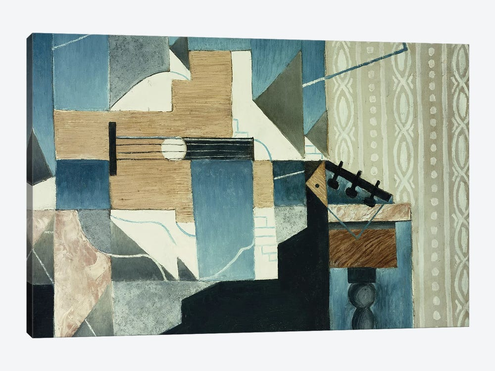 Guitar on Table; La Guitare sur la Table, 1913  by Juan Gris 1-piece Canvas Art