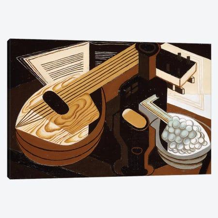 The Mandolin; La Mandoline, 1921  Canvas Print #BMN5905} by Juan Gris Art Print