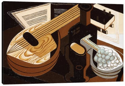 The Mandolin; La Mandoline, 1921  Canvas Art Print