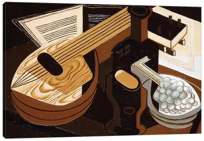 The Mandolin; La Mandoline, 1921  Canvas Art Print
