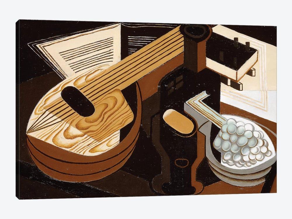 The Mandolin; La Mandoline, 1921  by Juan Gris 1-piece Canvas Wall Art