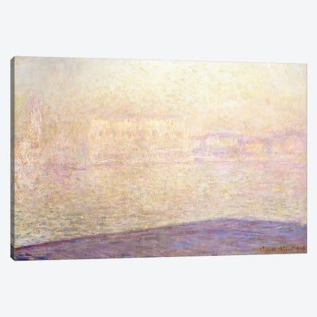 Le Palais Ducal vu de Saint-Georges Majeur, 1908  Canvas Print #BMN5906} by Claude Monet Art Print