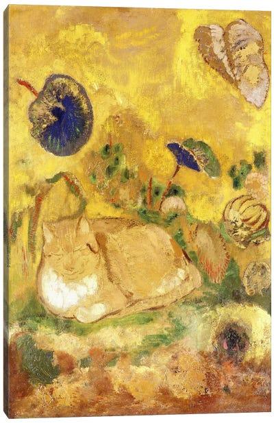 Bazon, the Artist's Cat; Bazon, le Chat de l'Artiste, c.1905  Canvas Art Print