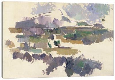 Montagne Sainte-Victoire, 1904-05  Canvas Art Print
