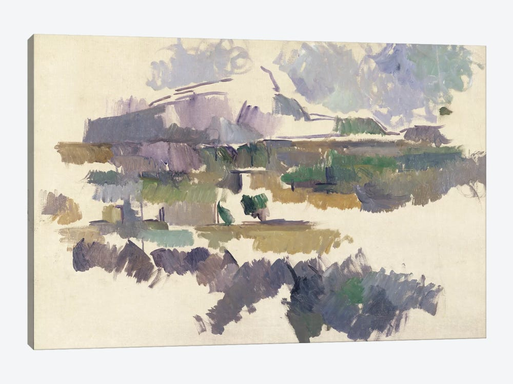 Montagne Sainte-Victoire, 1904-05  by Paul Cezanne 1-piece Canvas Wall Art