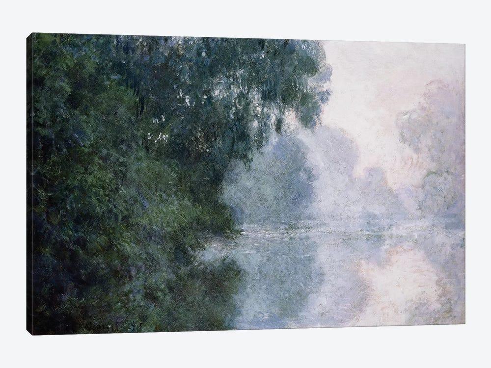 Morning on the Seine, Effect of Mist; Matinee sur la Seine, Effet de Brume, 1897  by Claude Monet 1-piece Canvas Art