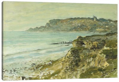 The Cliff at Sainte-Adresse; La Falaise de Saint Adresse, 1873 Canvas Art Print