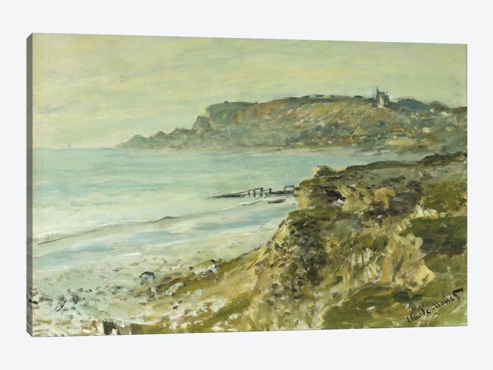 The Cliff at Sainte-Adresse; La Falaise de Saint Adresse, 1873  by Claude Monet 1-piece Canvas Print