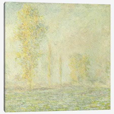 The Prairie in Giverny; La Prairie a Giverny, 1888  Canvas Print #BMN5917} by Claude Monet Canvas Wall Art
