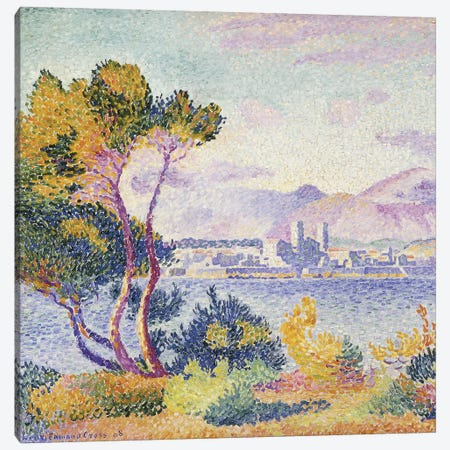 Antibes, Afternoon; Antibes, Apres-midi, 1908  Canvas Print #BMN5920} by Claude Monet Canvas Art