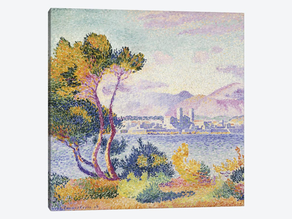 Antibes, Afternoon; Antibes, Apres-midi, 1908  by Claude Monet 1-piece Canvas Art Print