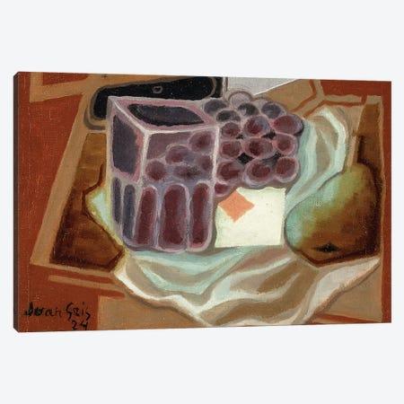 Ace of Diamonds; L'as de Carreau, 1924  Canvas Print #BMN5922} by Juan Gris Canvas Art