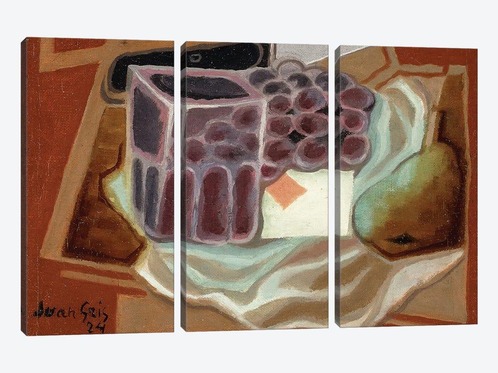 Ace of Diamonds; L'as de Carreau, 1924  by Juan Gris 3-piece Art Print