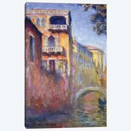 Le Rio de la Salute, 1908  Canvas Print #BMN5946} by Claude Monet Canvas Art Print