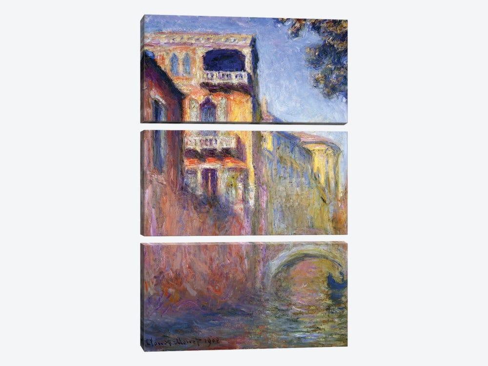 Le Rio de la Salute, 1908  by Claude Monet 3-piece Art Print