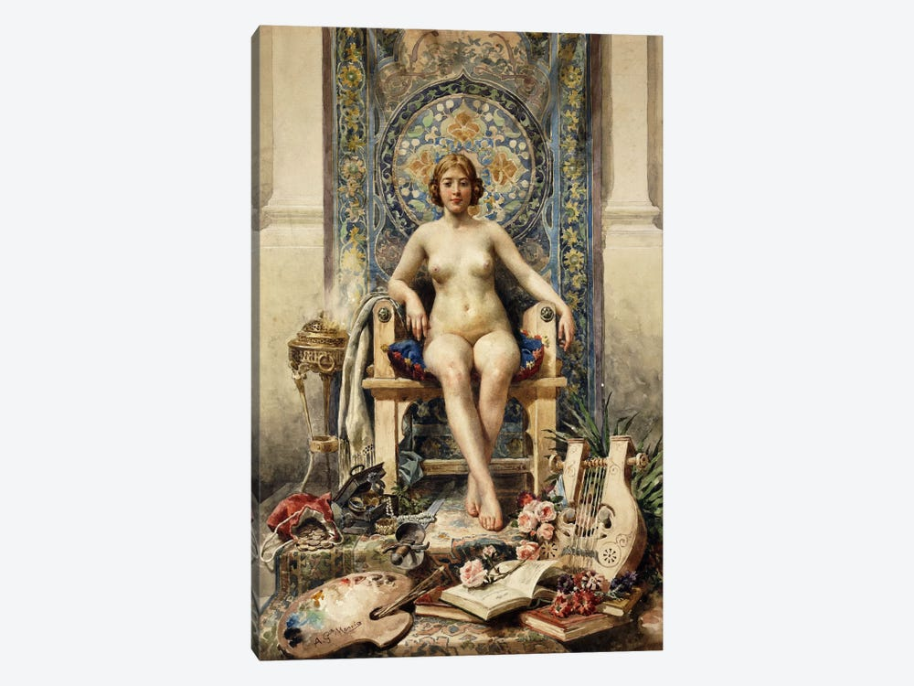 The Favourite by Antonio Garcia Mencia 1-piece Canvas Artwork