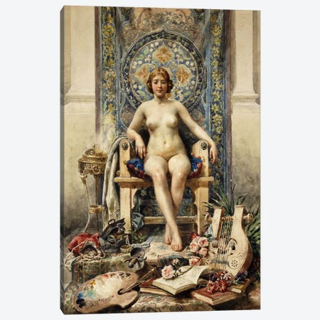 The Favourite Canvas Print #BMN5949} by Antonio Garcia Mencia Canvas Artwork