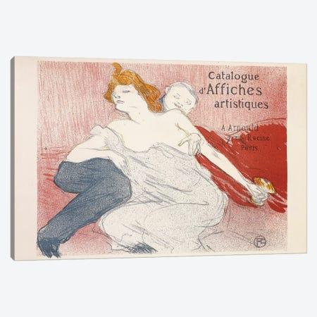 Debauche, Deuxieme Planche, 1896  3-Piece Canvas #BMN5954} by Henri de Toulouse-Lautrec Canvas Art
