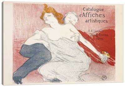 Debauche, Deuxieme Planche, 1896  Canvas Art Print