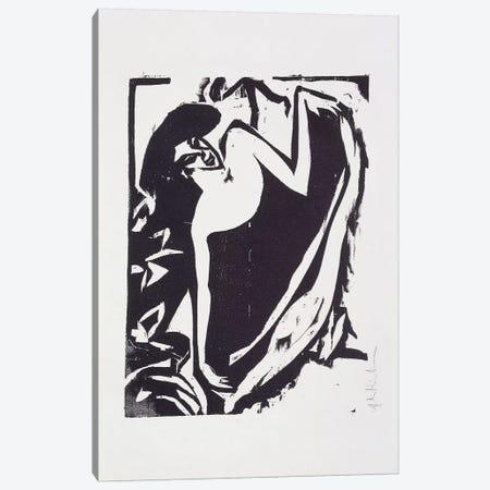 Dancer with Raised Skirt, 1909  Canvas Print #BMN5955} by Ernst Ludwig Kirchner Canvas Art