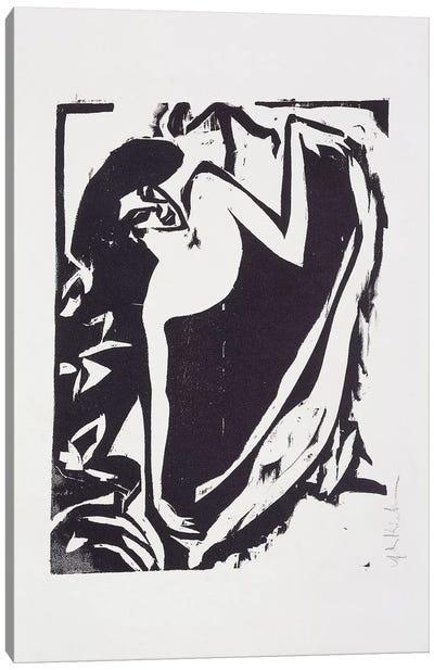Dancer with Raised Skirt, 1909  Canvas Art Print