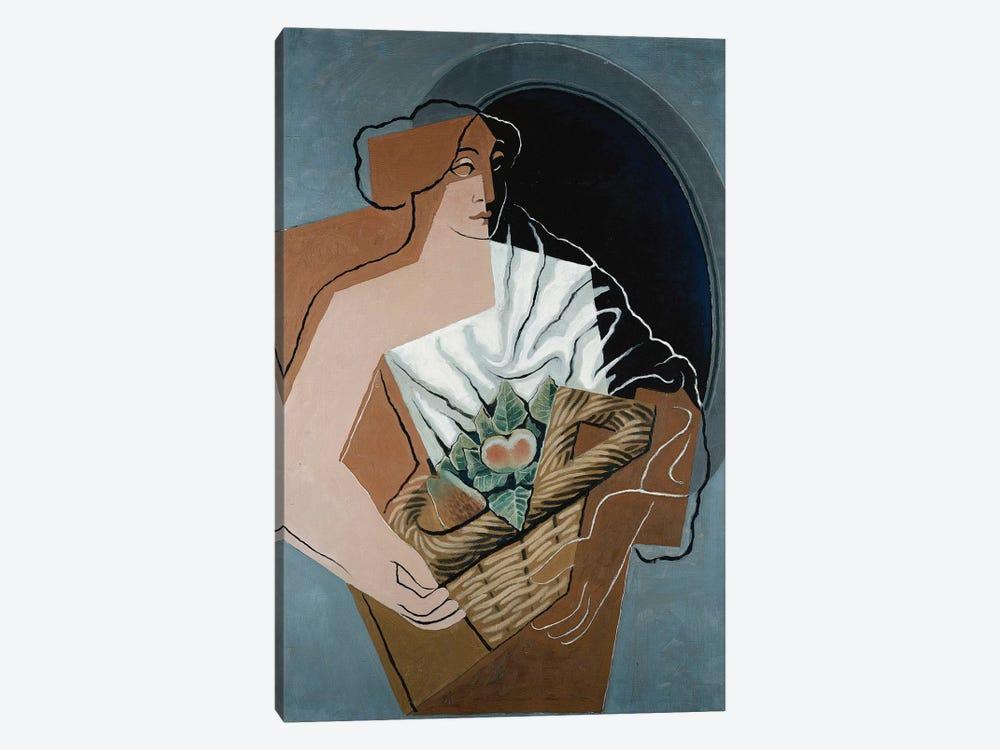 Woman with Basket; La Femme au Panier, 1927  by Juan Gris 1-piece Canvas Print