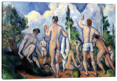 The Bathers, c.1890-92  Canvas Art Print