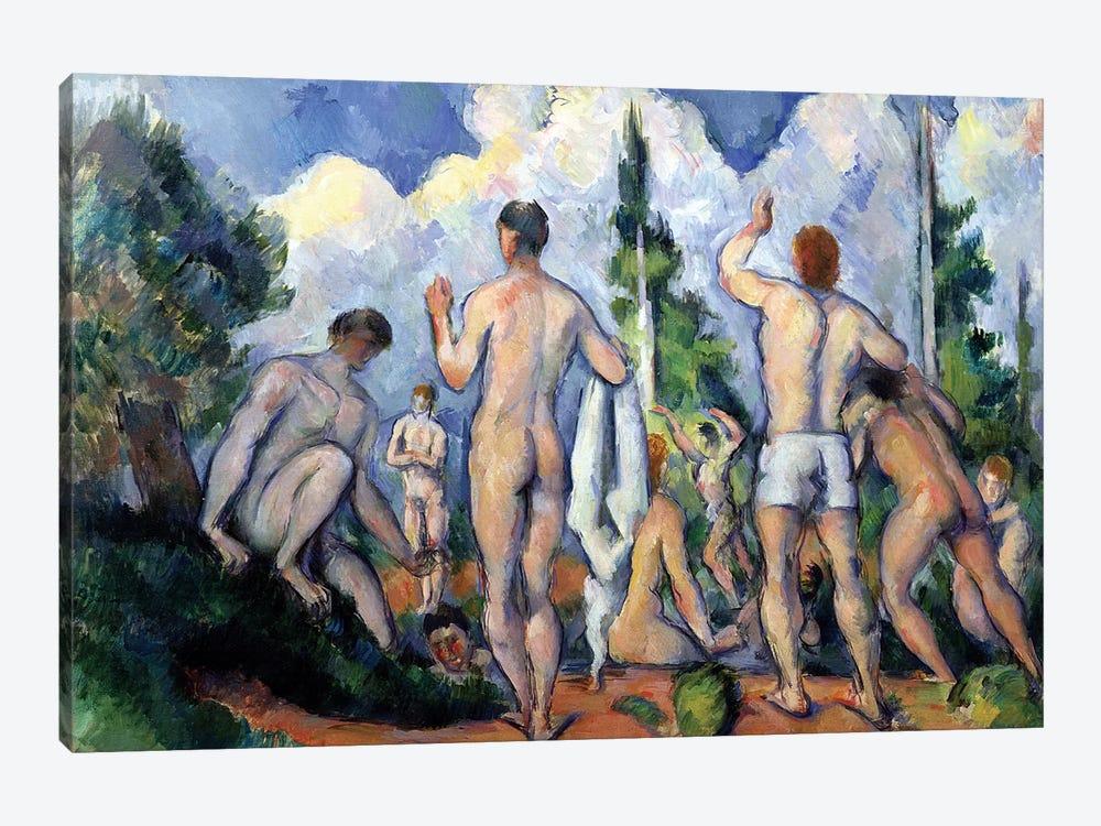 The Bathers, c.1890-92  by Paul Cezanne 1-piece Art Print