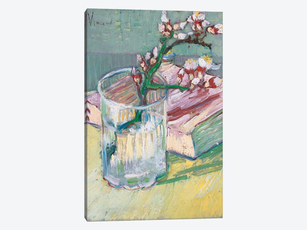 Still life, a flowering almond branch, 1888  by Vincent van Gogh 1-piece Art Print