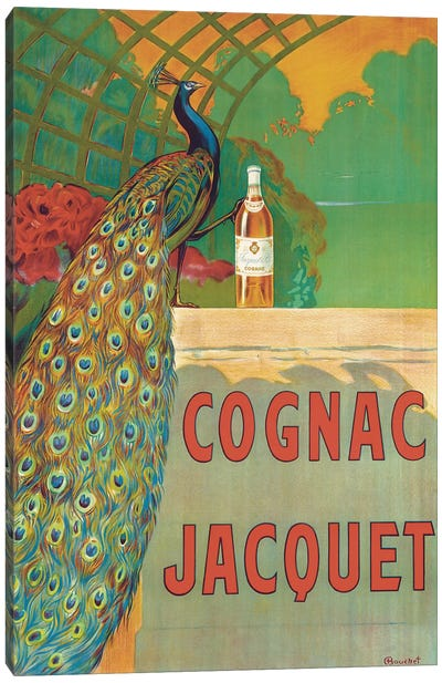 Cognac Jacquet Canvas Art Print