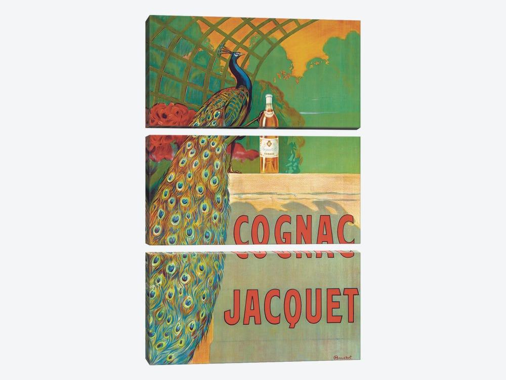 Cognac Jacquet  by Camille Bouchet 3-piece Canvas Art Print