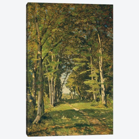 The Woods of Famars, 1887  Canvas Print #BMN5964} by Henri-Joseph Harpignies Canvas Print