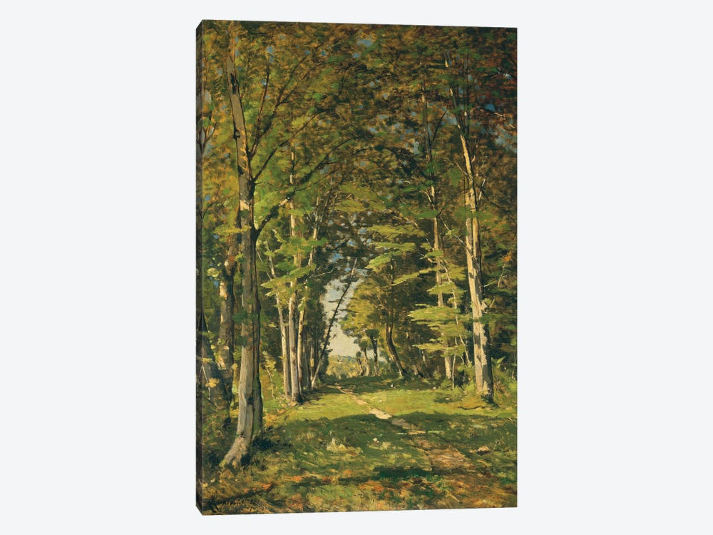 The Woods of Famars, 1887 by Henri-Joseph Harpignies 1-piece Art Print