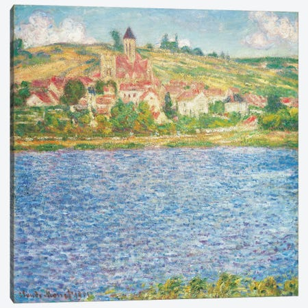 Vetheuil, Afternoon, 1901  Canvas Print #BMN5967} by Claude Monet Canvas Print