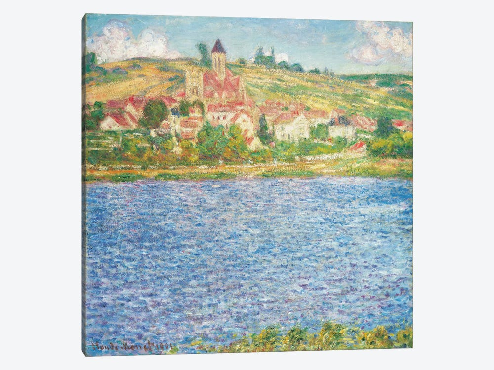 Vetheuil, Afternoon, 1901  by Claude Monet 1-piece Canvas Wall Art