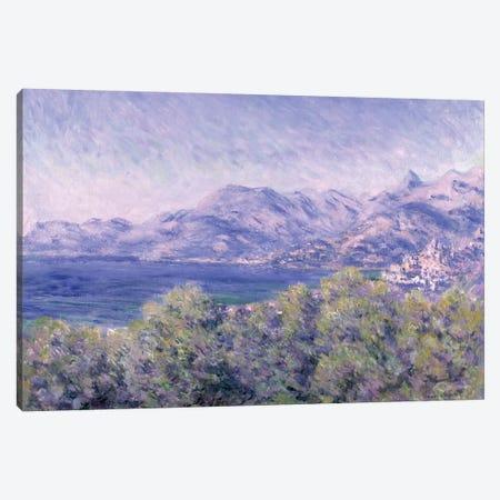View of Ventimiglia, 1884  Canvas Print #BMN596} by Claude Monet Canvas Print