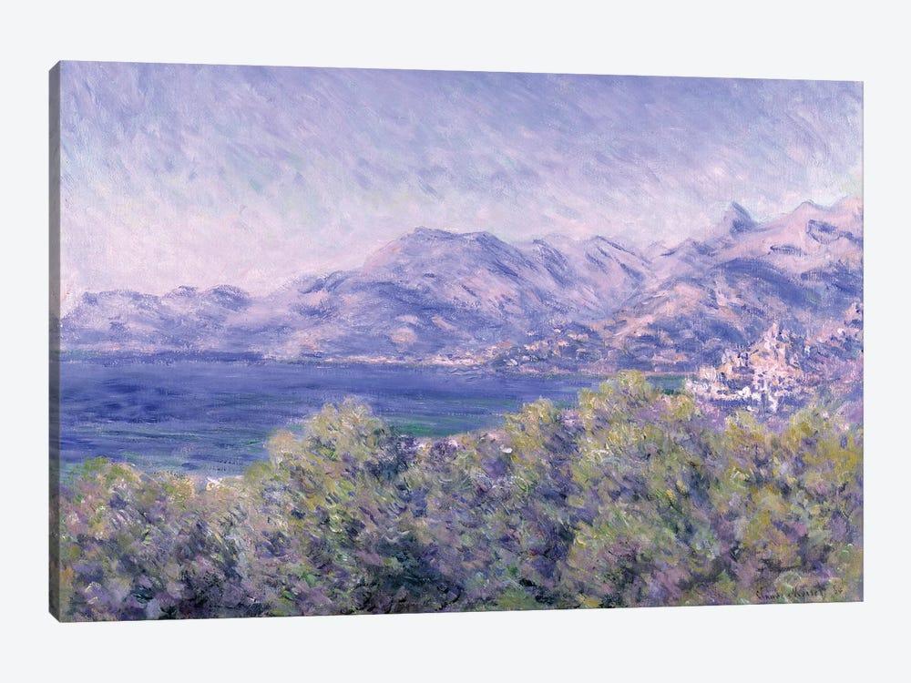 View of Ventimiglia, 1884  by Claude Monet 1-piece Canvas Artwork