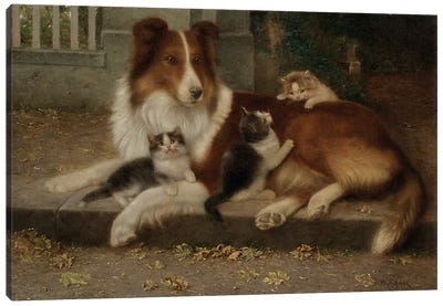 Best of Friends, 1906  Canvas Art Print