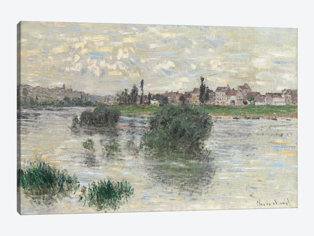 The Seine at Lavacourt, 1879  by Claude Monet 1-piece Art Print