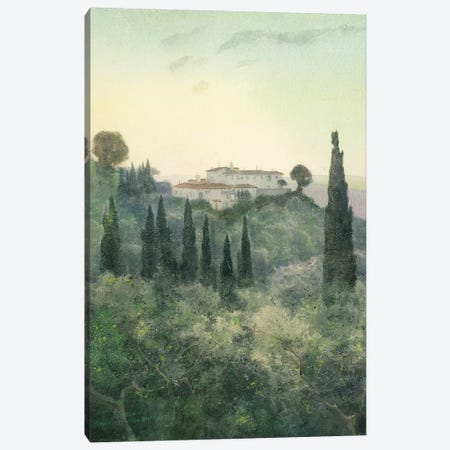 Villa Bocklin, Fiesole, 1897  Canvas Print #BMN5974} by Carl Ernest von Stetten Canvas Art