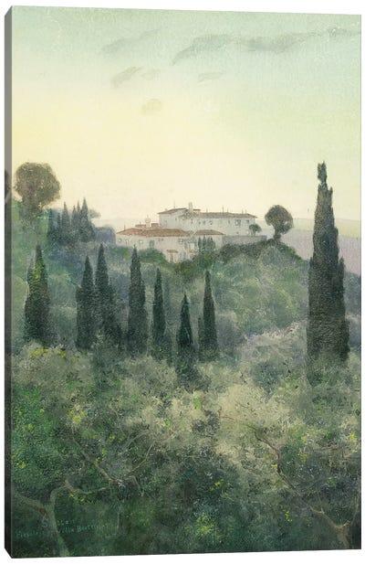 Villa Bocklin, Fiesole, 1897  Canvas Art Print